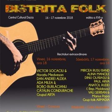 """Festivalul """"Bistrița Folk"""", la a XVII-a ediție. Cine este invitatul special al evenimentului"""