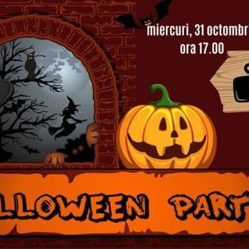 SUPER petrecere de Halloween, la Căsuța Ema!