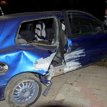 FOTO – Băutura nu se împacă cu volanul! A ieșit cu mașina să mai petreacă un pic și s-a oprit într-un cap de pod