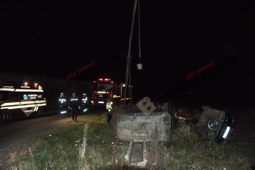FOTO/VIDEO – Teribil accident de circulație la Brăteni! Un tânăr a murit și alte două persoane au fost rănite