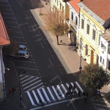 FOTO – Minunea de pe Şincai. Cum arată prima Zebră 3D din oraș
