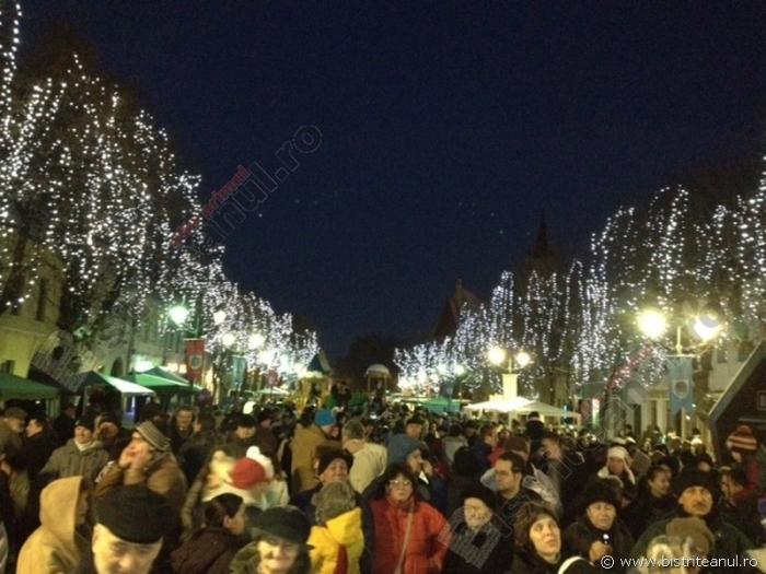 Se-aprind luminițele de sărbătoare, în aceeași zi, pentru Târgul de Crăciun, patinoar și întregul oraș. AFLĂ când: