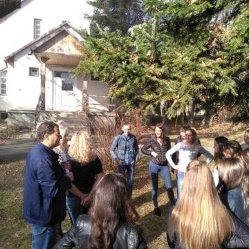 FOTO: 16 elevi de la Liceul Tehnologic Agricol Bistrița pleacă luni în Spania!