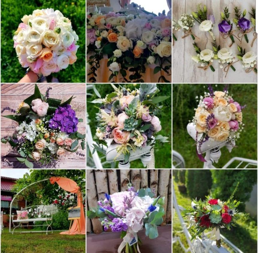 Euforia Floral Boutique: Fiecare nuntă a avut povestea și parfumul ei de flori proaspete! A fost un sezon de vis…