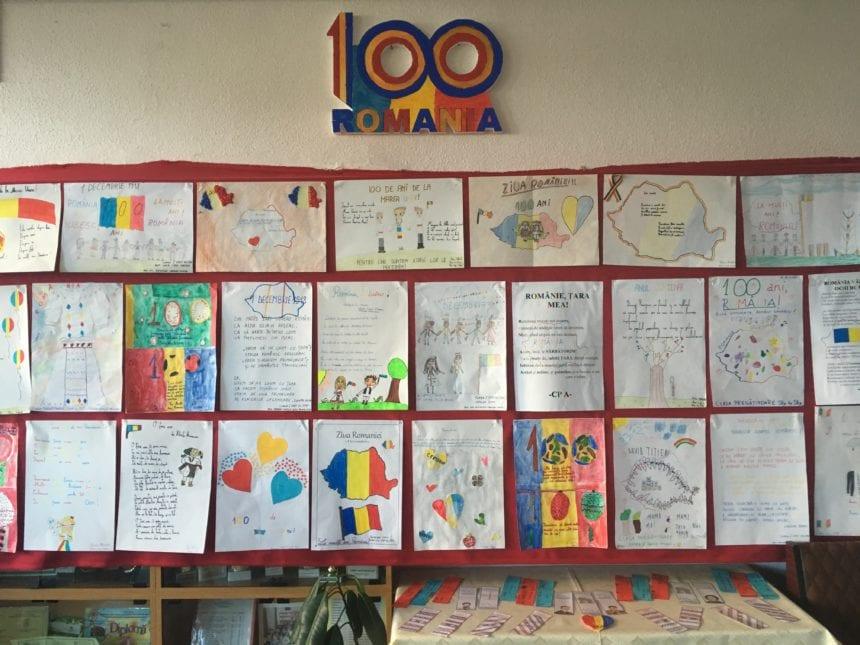 Mesaje pentru România în sărbătoare, de la elevii și profesorii Școlii Gimnaziale Nr. 4