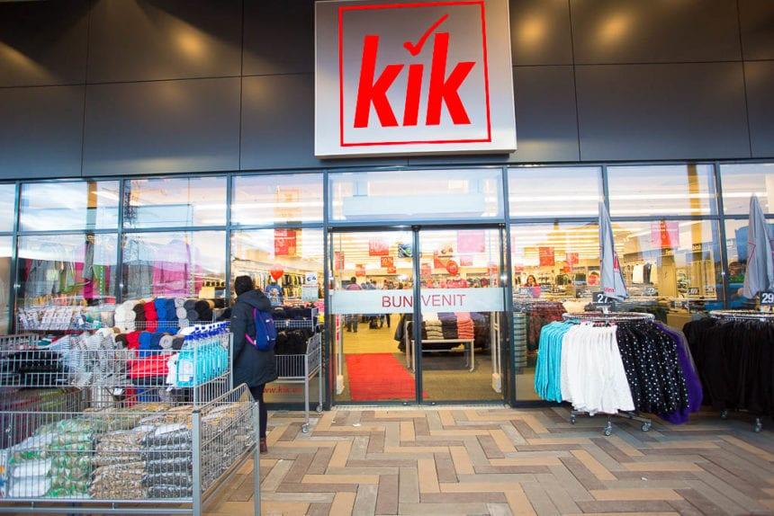 FOTO/VIDEO: Retailerul german de îmbrăcăminte KiK deschide al treilea magazin din Transilvania, la Bistrița