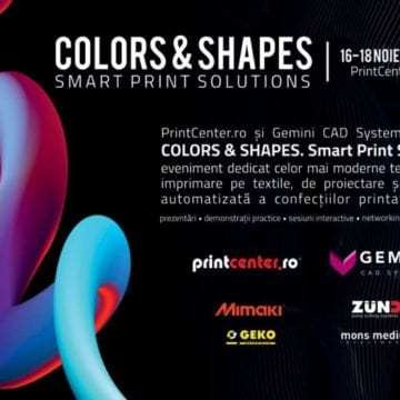 PrintCenter.ro & Gemini CAD Systems: Soluții SMART pentru industria textilă și fashion!
