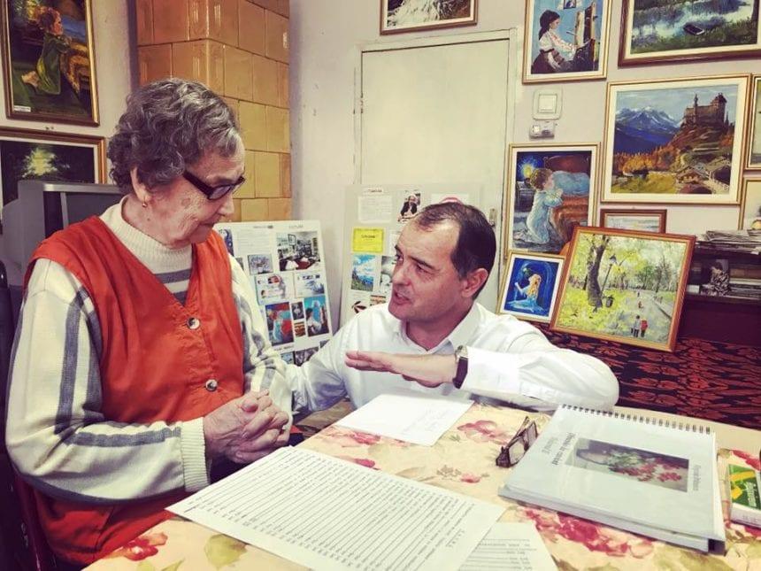 EXTRA: La cei 90 de ani, artista Virginia Brănescu ne oferă încă o impresionantă lecție de viață