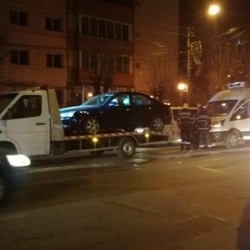 FOTO – Accident în lanț la semafor, pe Andrei Mureșanu, din cauza neatenției