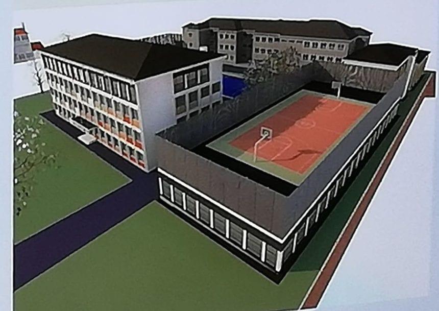 FOTO: Sală de sport semi-îngropată, cu teren deasupra. AFLĂ ce școli vor fi reabilitate și cum: