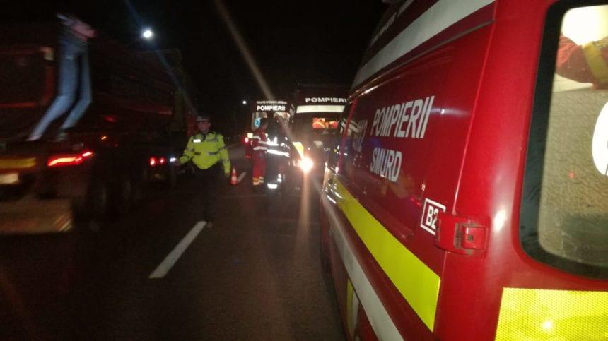 GRAV accident pe Valea Bârgăului! Un bărbat a murit