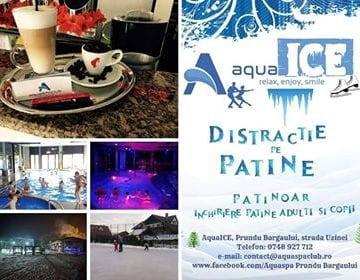 La Aquaspa Prundu Bârgăului distracţia e în toi! Pe patine sau în piscine!
