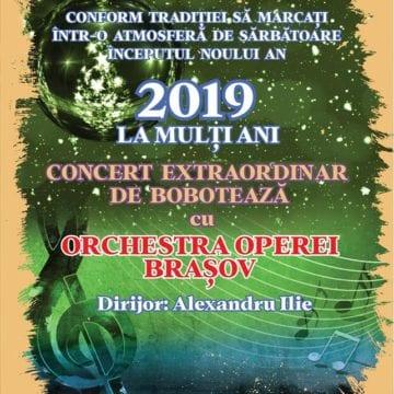 Concert extraordinar de Bobotează, la Palatul Culturii