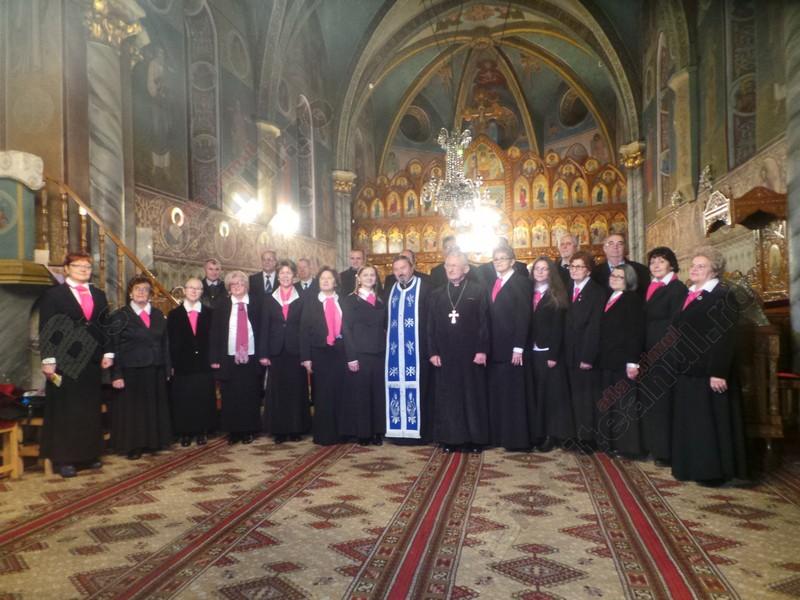 FOTO/VIDEO: Corala Andrei Mureşanu sau bucuria de a fi lângă Dumnezeu… De o jumătate de secol!