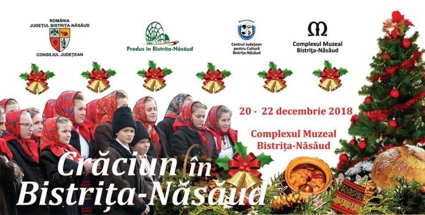 Crăciun în Bistriţa-Năsăud:  Trei zile de poveste, într-un decor de feerie