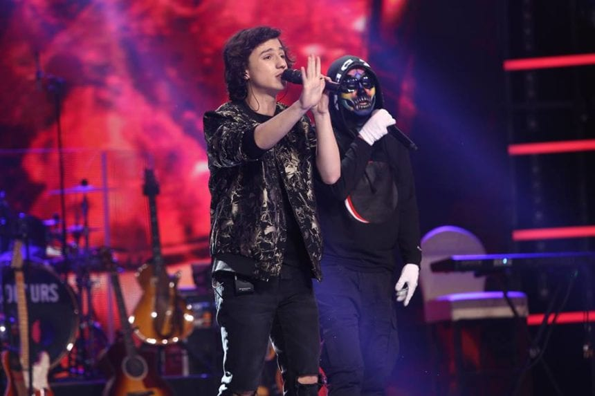VIDEO: Cristian Moldovan din Bistriţa a luptat, în finala X Factor, până la sânge!