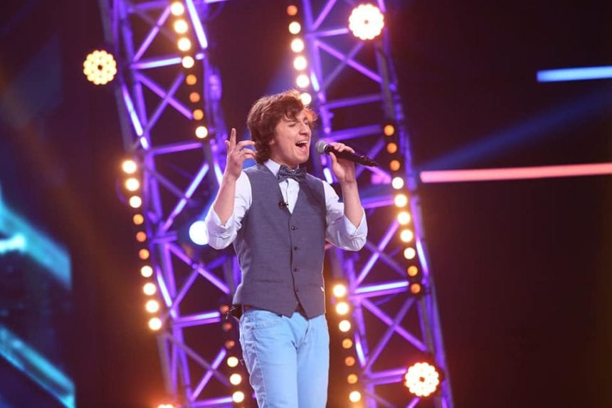VIDEO:  Cristian Moldovan din Bistriţa – cuceritor şi plin de curaj astă-seară, la X Factor!