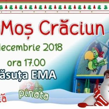Vine Moş Crăciun, AZI, la Căsuţa EMA…!