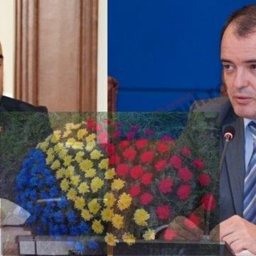 Dezbinare, de Marea Unire! Simionca și prefectul județului se ceartă din cauza unei coroane de flori