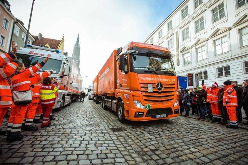 Tăşuleasa Social: Camioanele de Crăciun au pornit spre România! Cum îi ajută pe copiii din Basarabia cu încă 2 camioane