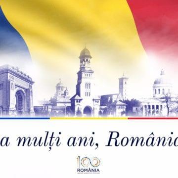 """Ionuț Simionca: """"Cred într-o Românie reîntregită și prosperă! La Mulți Ani, români!"""""""
