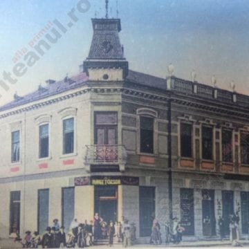 FOTO/VIDEO: Primele bănci, primele instituţii de credit din Bistriţa-Năsăud, într-o carte-document
