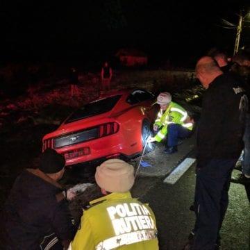 Două luni, două accidente, aceeași mașină. Mustangul de la Cepari a mai făcut victime