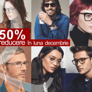 Cum ar fi să alegem cadouri frumoase de Crăciun?! 50% reducere la ochelarii de soare şi vedere – la Q Vision Cluj-Napoca!