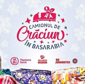 Camionul de Crăciun, în Basarabia: O provocare, pentru toţi cei care vor să înveţe să dăruiască!