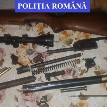 FOTO: Patru bărbați reținuți pentru deținere și folosire ilegală de arme letale