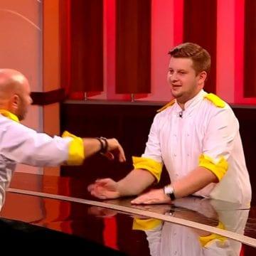 Andrei a ajuns în semifinala III a sezonului VI – Chefi la Cuțite! Mâine seară, punctul culminant!