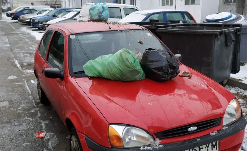 Blochezi autospeciala de gunoi?! Te paște o amendă!