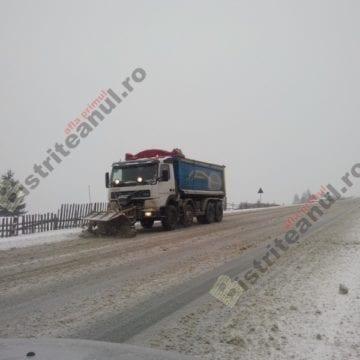 ATENȚIE șoferi cum porniți la drum! Avem Drumuri Naționale acoperite de zăpadă!