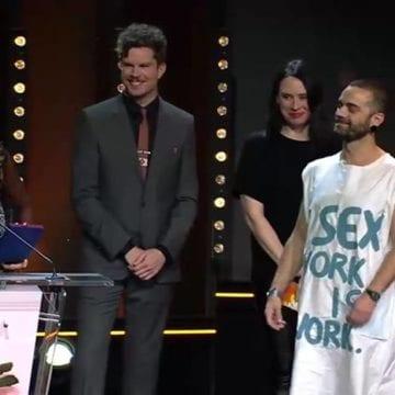 FANTASTIC:  Bogdan Georgescu din Bistrița, pe podium la Festivalul Internațional de Film de la Berlin!