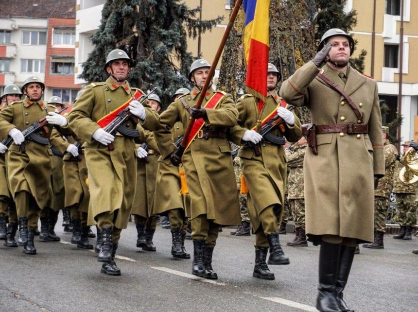 FOTO- REPORTAJ: Brigata 81 mecanizată, la 100 de ani de existență!
