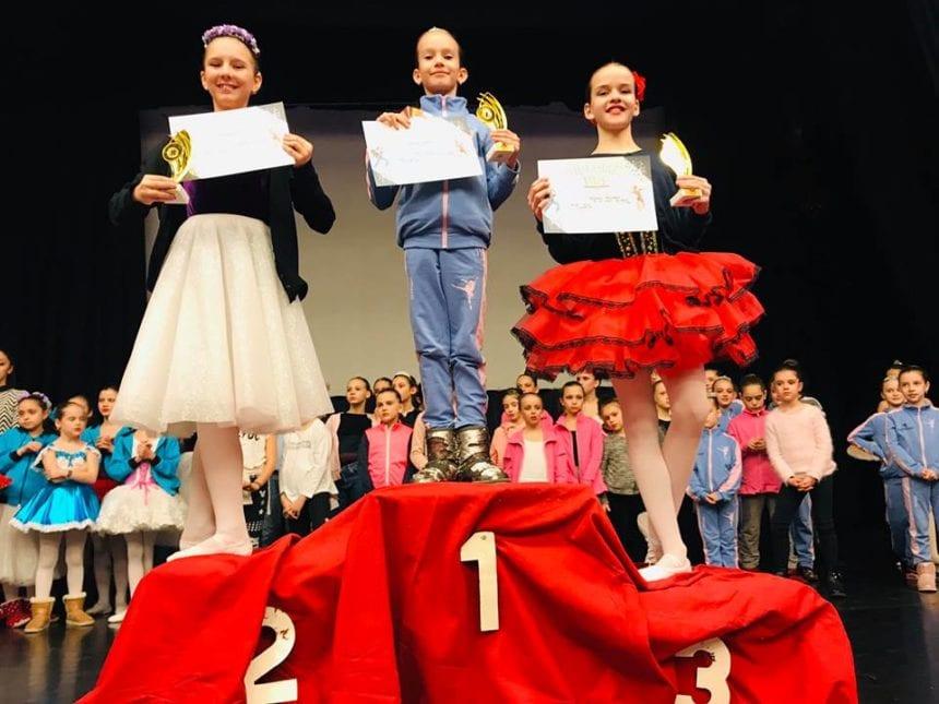 EXCELENȚĂ: Balerinele lui Ovidiu Danci au adus acasă 13 premii și patru burse de studii în Italia