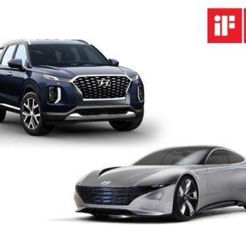 """Hyundai câștigă două premii """"iF Design 2019""""!"""