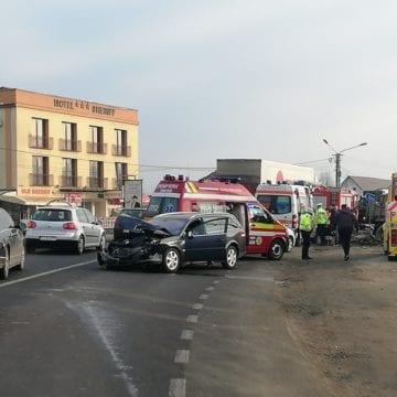 VIDEO – Imagini șocante de la accidentul de la  Sheriff, surprinse chiar de camera uneia dintre mașinile implicate