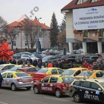 """Câte taxi-uri """"fantomă"""" au găsit polițiștii în județ"""
