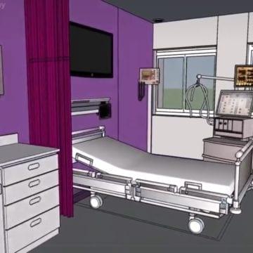 VIDEO – Spitalul Județean va avea o secție ultra modernă de Terapie Intensivă