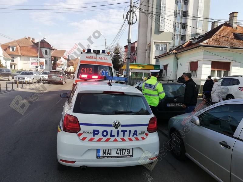 FOTO: Accident în lanț, la semaforul de pe strada 1 Decembrie!