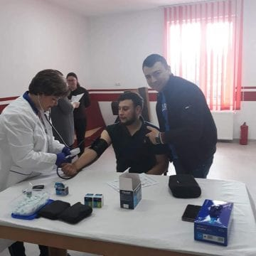 FOTO: Testările gratuite de la Căianu Mic ar putea lungi viața a încă 15 localnici
