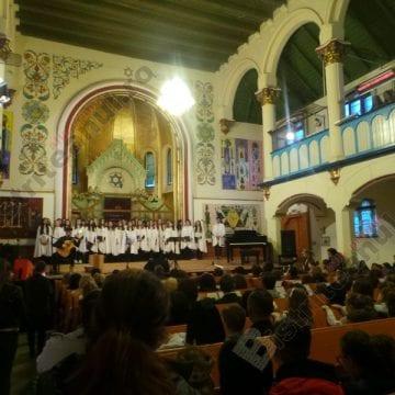 FOTO/VIDEO: Concert extraordinar, într-un proiect Erasmus + coordonat de Școala Gimnazială Nr 1 Bistrița