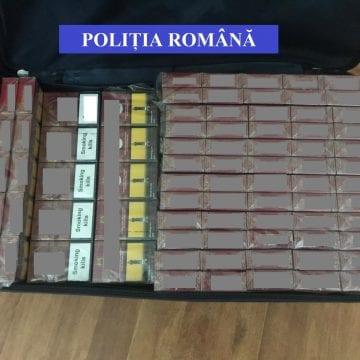 Doi maramureșeni prinși cu mii de țigări de contrabandă, în tren!