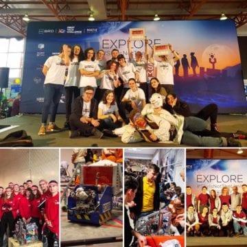 Războiul roboților! Bistrița-Năsăud trimite 4 echipe la finala campionatului național de robotică