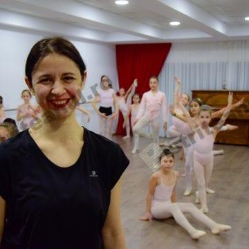VIDEO:  Faimoasa balerină Corina Dumitrescu, la Bistrița! Câteva recomandări pentru părinți