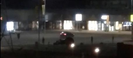 VIDEO: Bistrițenii, terorizați nopțile de drifturile de la mall