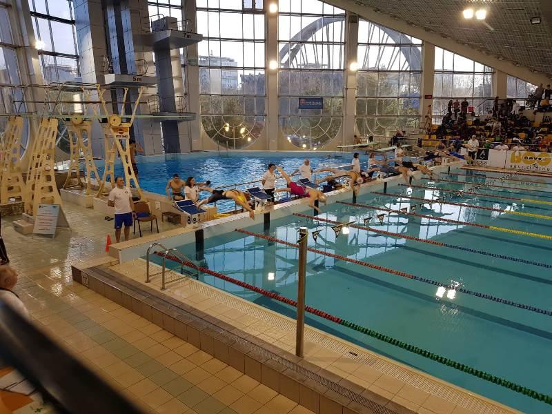 Medalie pentru Bistrița, la Campionatele naționale de natație!