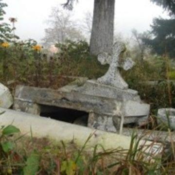 Tânăr de pe Bârgău, reținut pentru amenințare și profanare de morminte