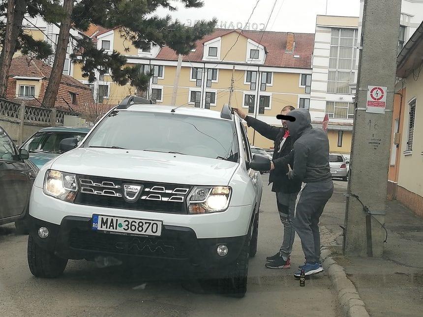 FOTO: Săltat în trafic după ce polițiștii au primit un pont!